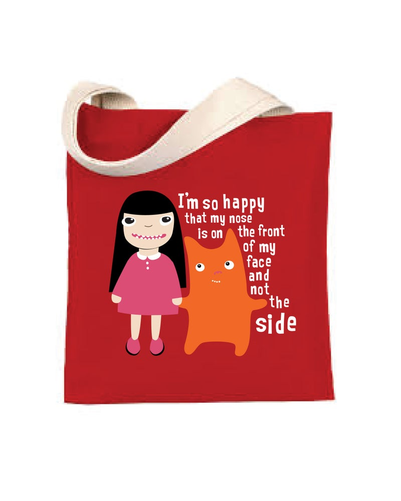Image of I'm so Happy - Tote Bag