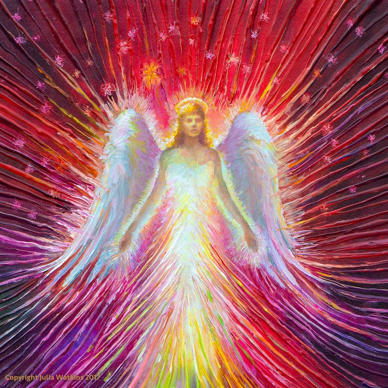 Image of The Angel Of New Hope Energy Painting - Giclee Print