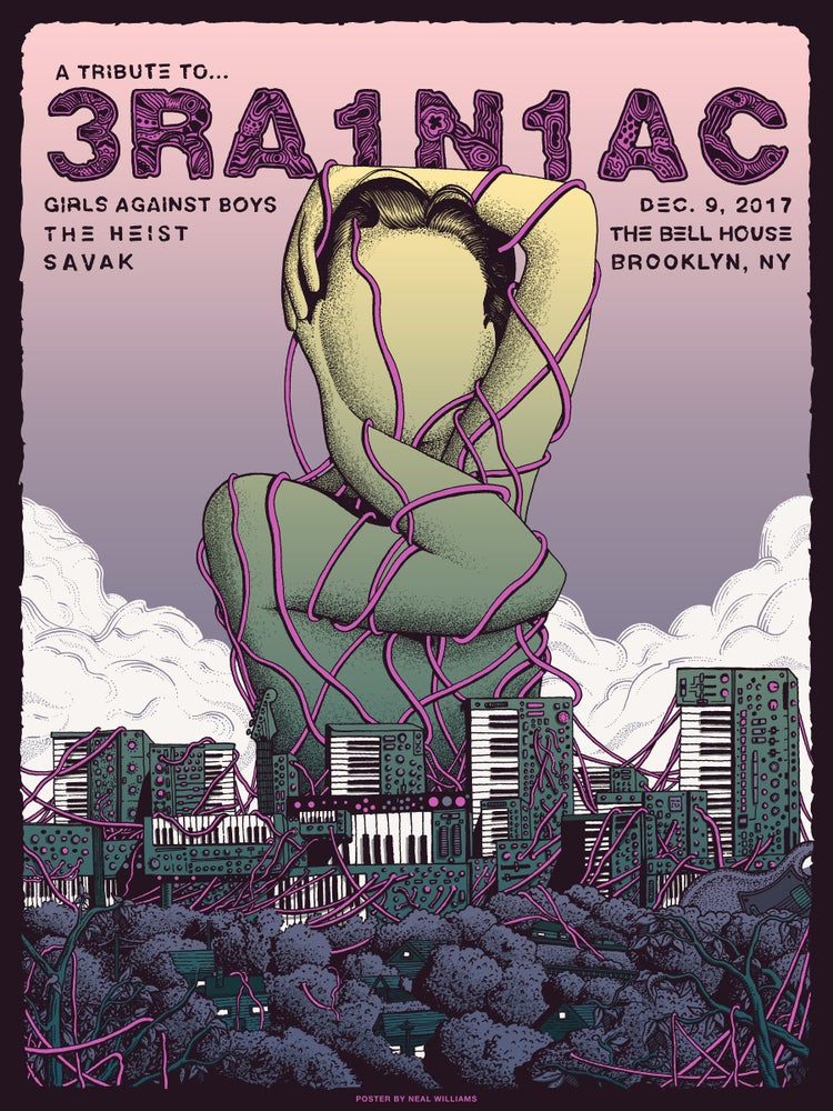 Image of Brainiac Tribute Show in Brooklyn, NY Poster