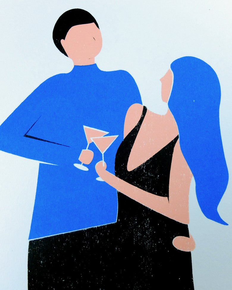 Image of Party ~ silkscreen