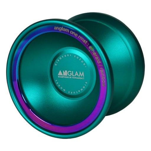 "Image of ANGLAM ONE RMST ""emerald / rainbow"""