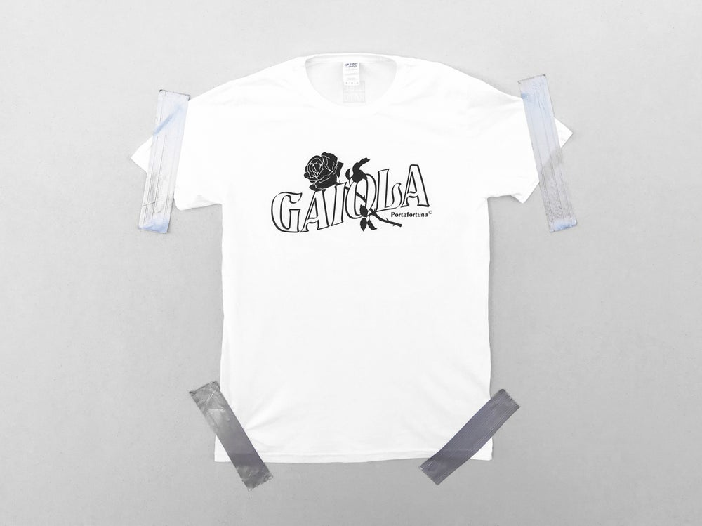 Image of GAIOLA PORTAFORTUNA TEE SHIRT