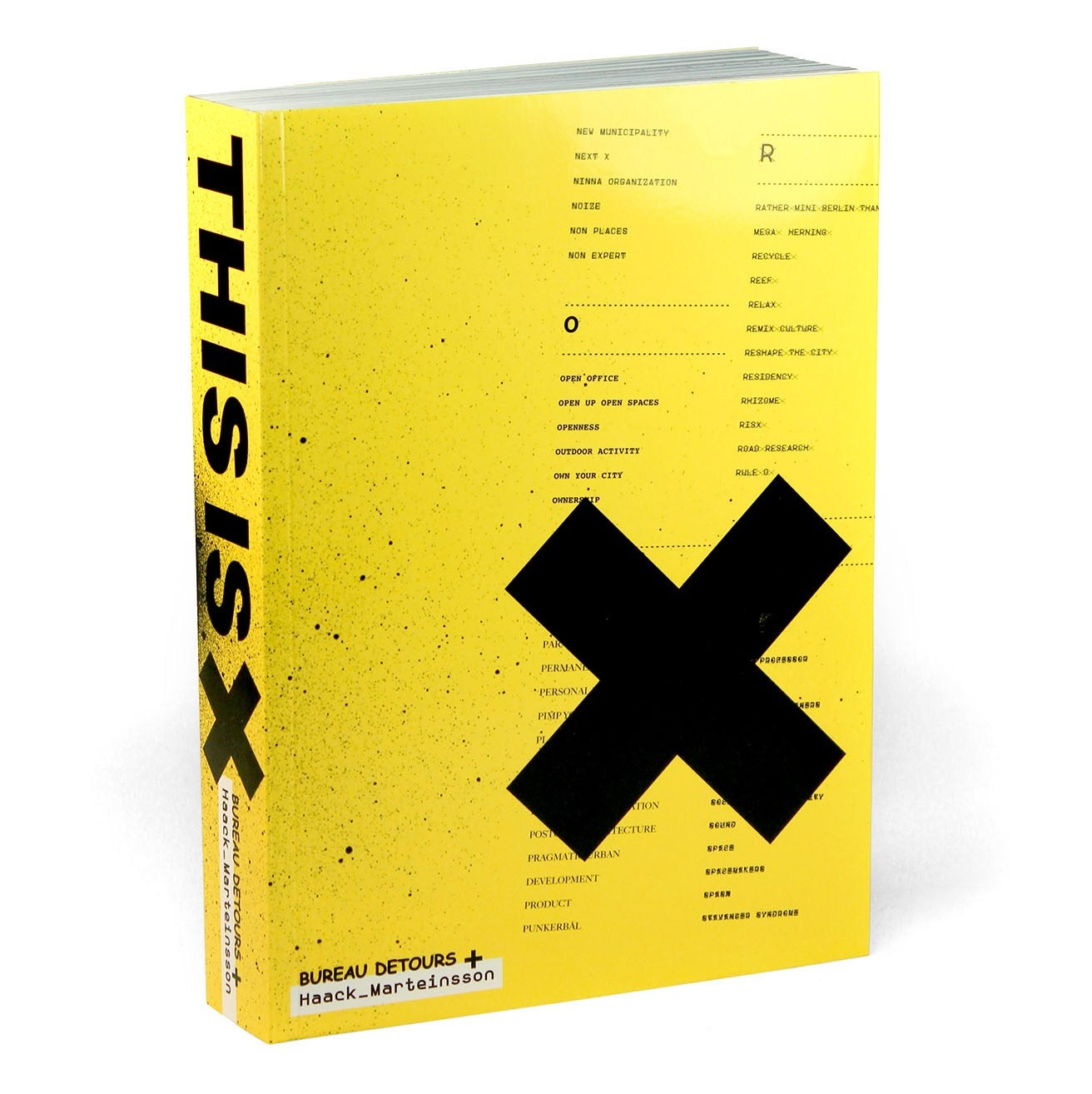 Image of THIS IS X book