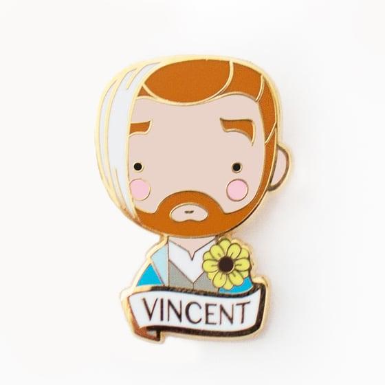 Image of VINCENT BROOCH