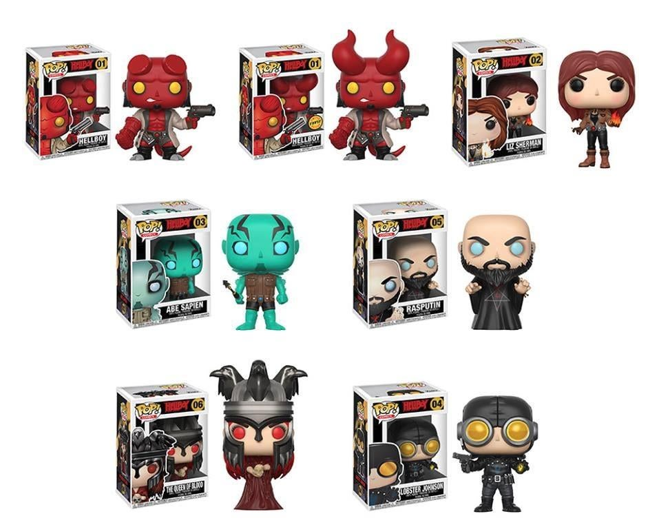 Image of Hellboy Full collection Pop Vinyls