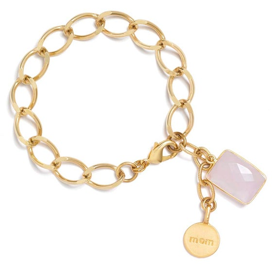 Image of LOVE MOM CHARM BRACELET