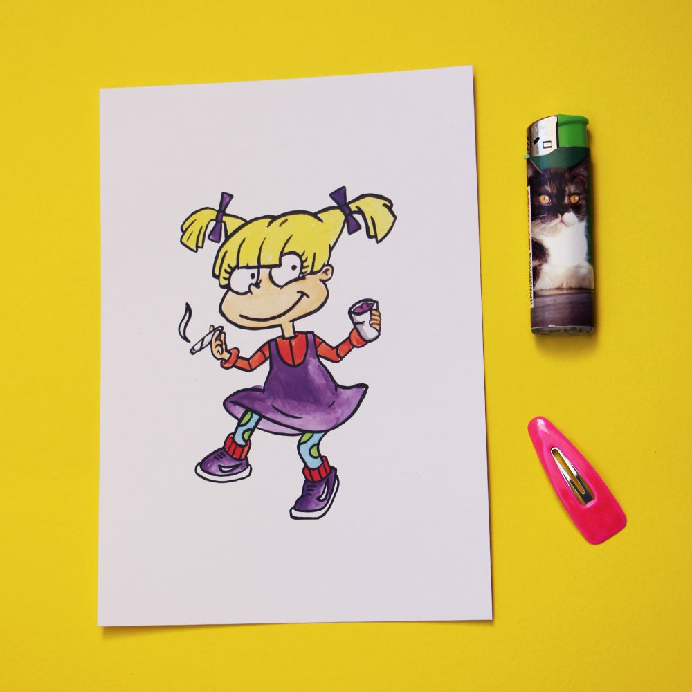 Image of Angelica Print