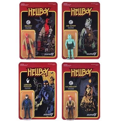 Image of Hellboy Retro Action Figures - Super 7