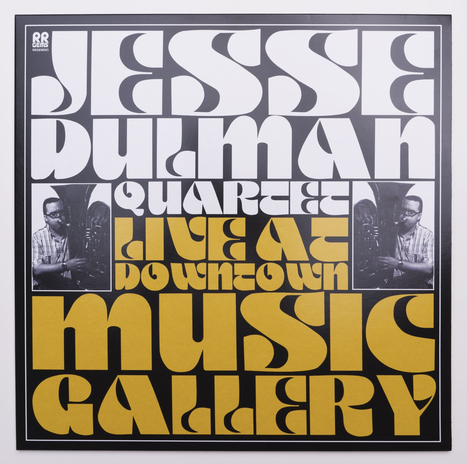 Image of Jesse Dulman Quartet - Live at Downtown Music Gallery - RRGEMS03
