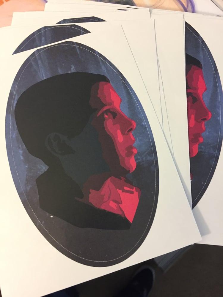 Image of Upside down Eleven sticker