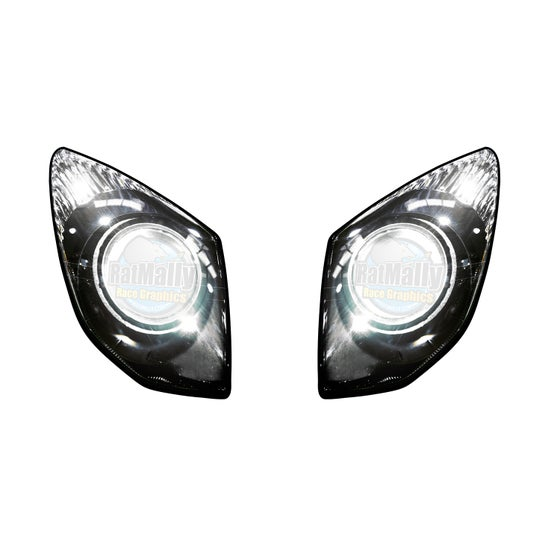 Image of Headlight Stickers. To fit Kawasaki ZX10R: 2008-11