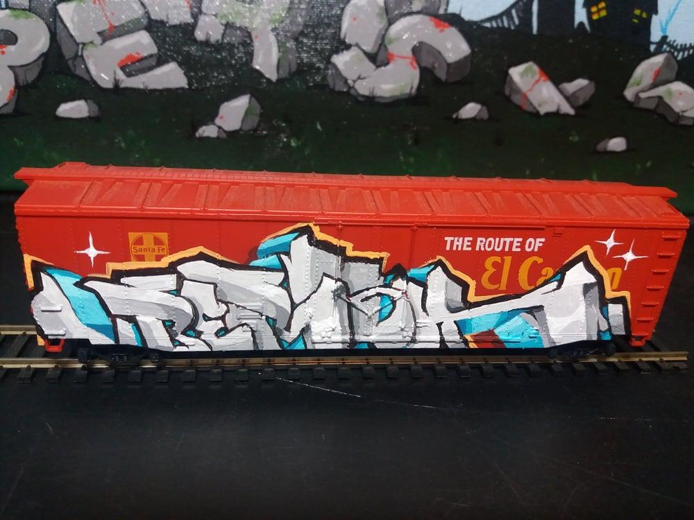 Image of Santa Fe Box Car
