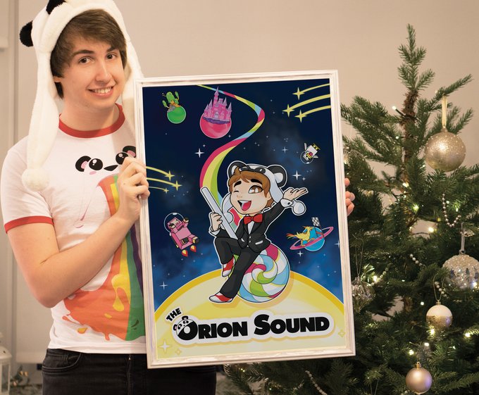 "Image of TheOrionSound ""Space-Pop"" Poster"