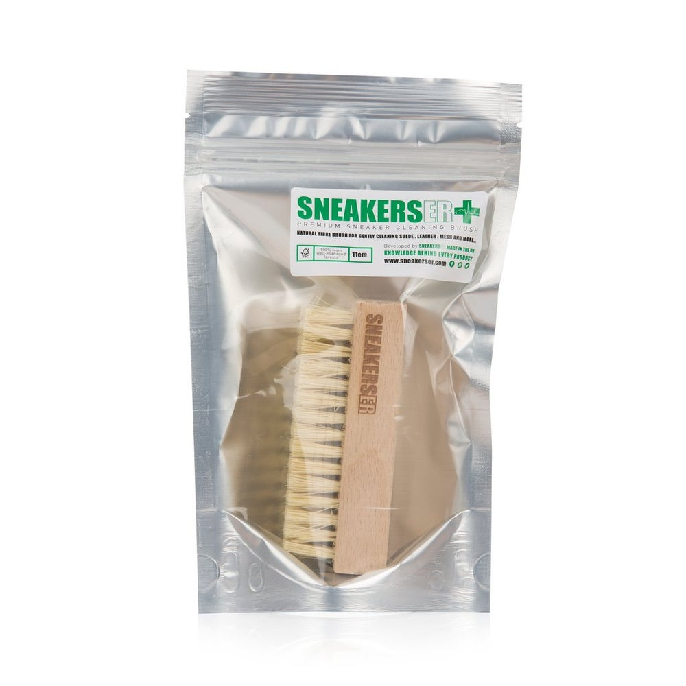 Image of Premium Sneaker Cleaning Brush with Natural Fibers
