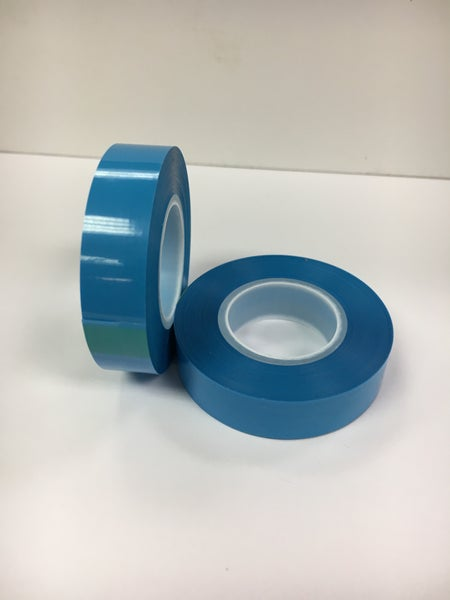 "Image of 82' 1/2"" Pro Audio Blue Tinted Splicing Tape"
