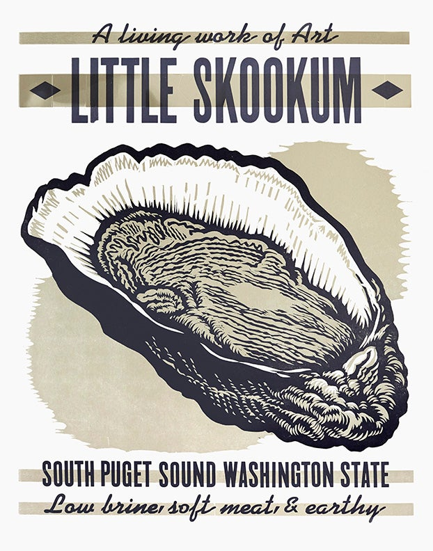 Image of Little Skookum West Coast Oyster