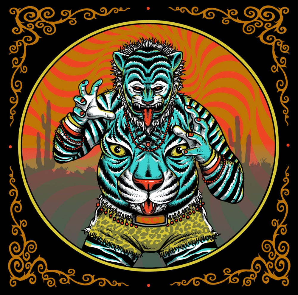 "Image of ""TIGER BELLY"" mini-print"