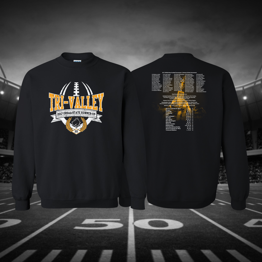 Image of Tri-Valley 2017 OHSAA State Runner-Up Crewneck Sweatshirt