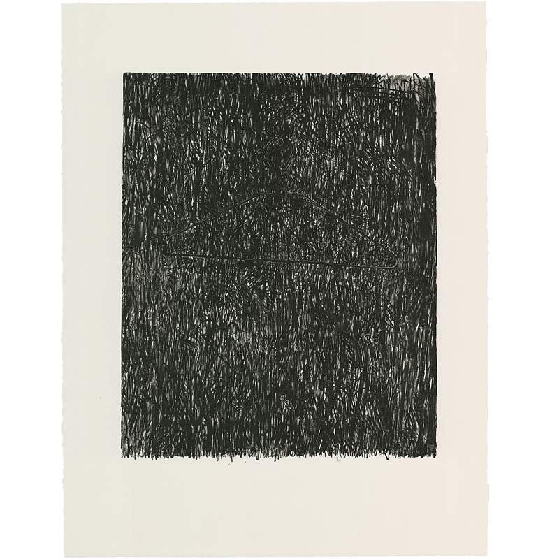 Image of Coat Hanger I, Jasper Johns