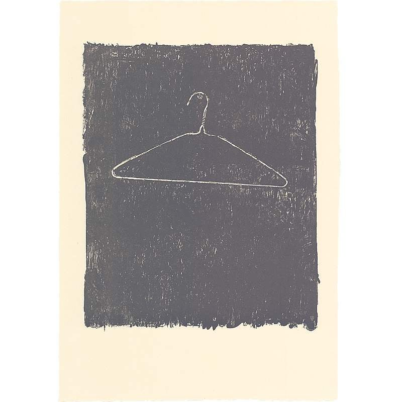 Coat Hanger II, Jasper Johns