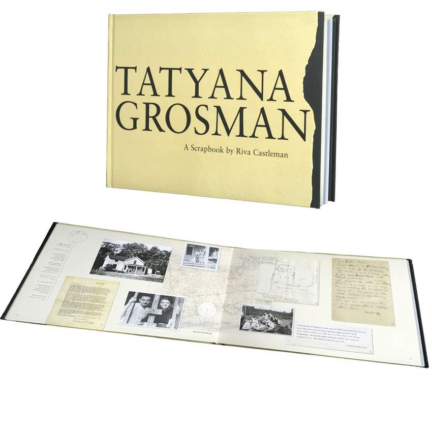 Image of Tatyana Grosman: A Scrapbook by Riva Castleman