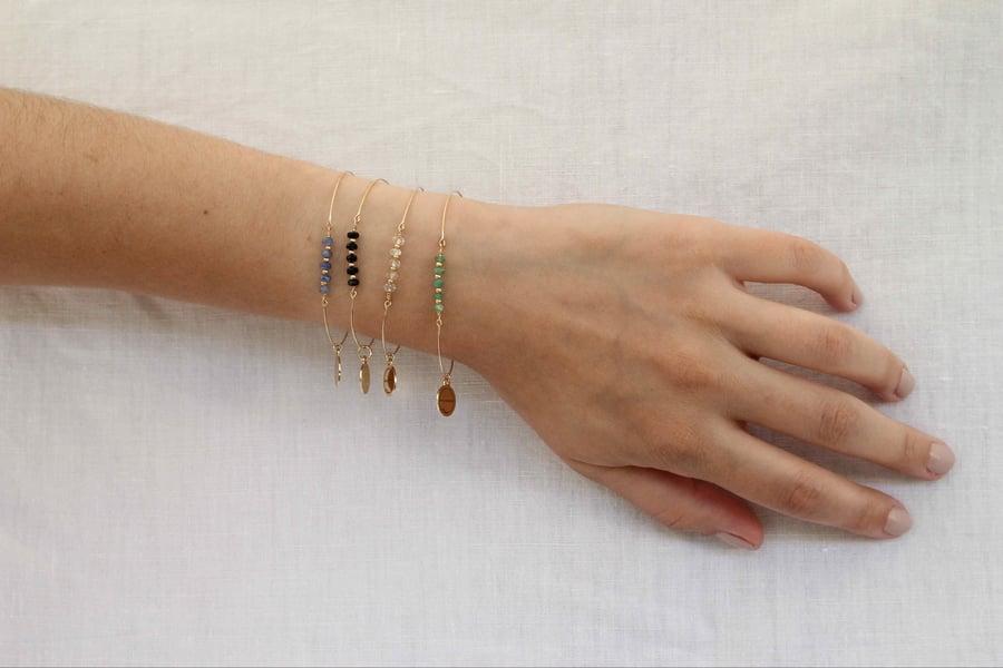 Image of Bracelet Saphirs