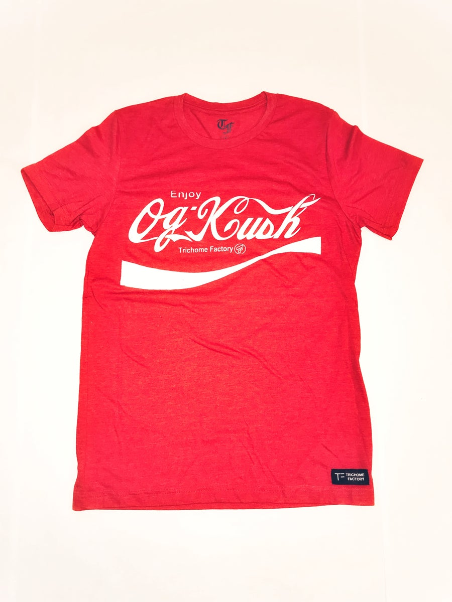 Image of Original OG Kush Classic Red T-Shirt