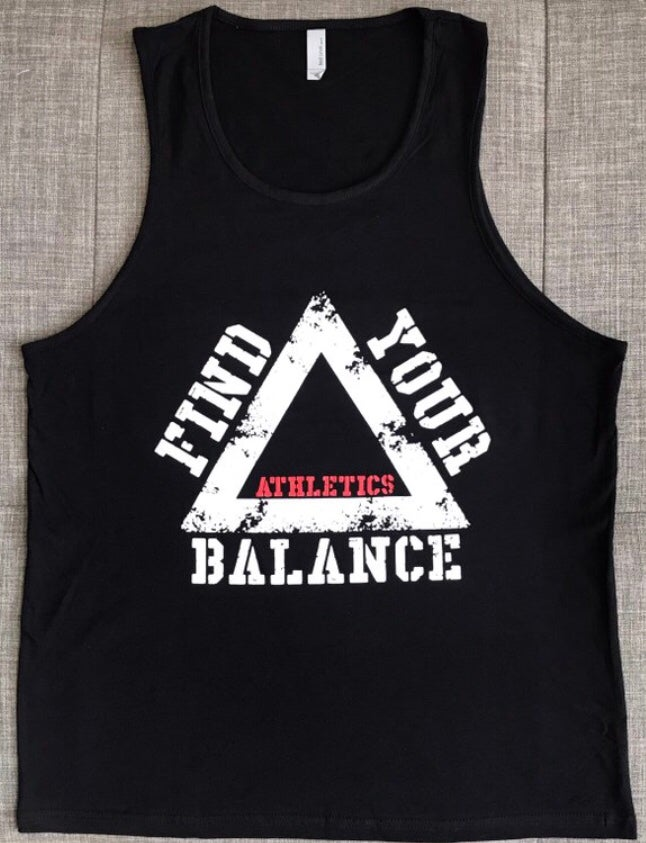 "Image of ""BFL"" MENS TANK - BLACK"