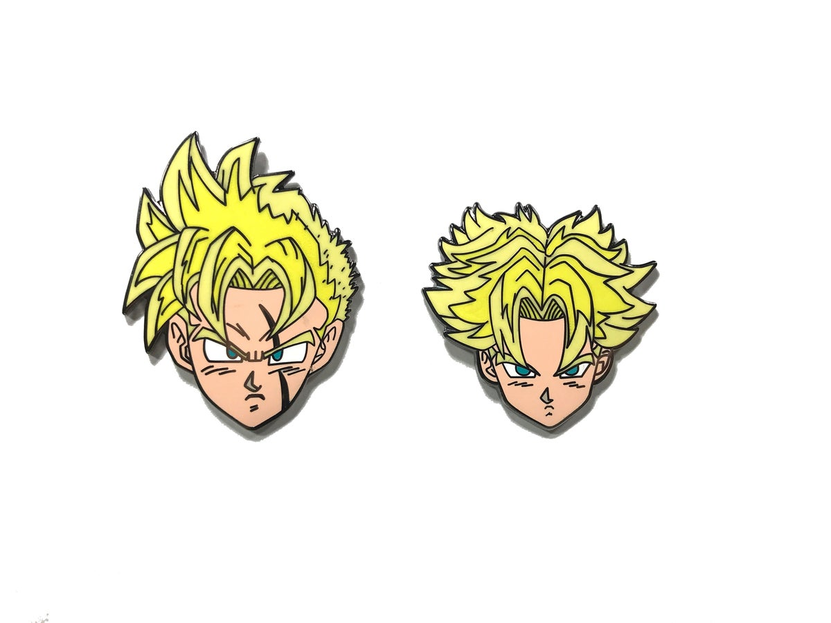 Super Future Warriors Hard Enamel Pin Set