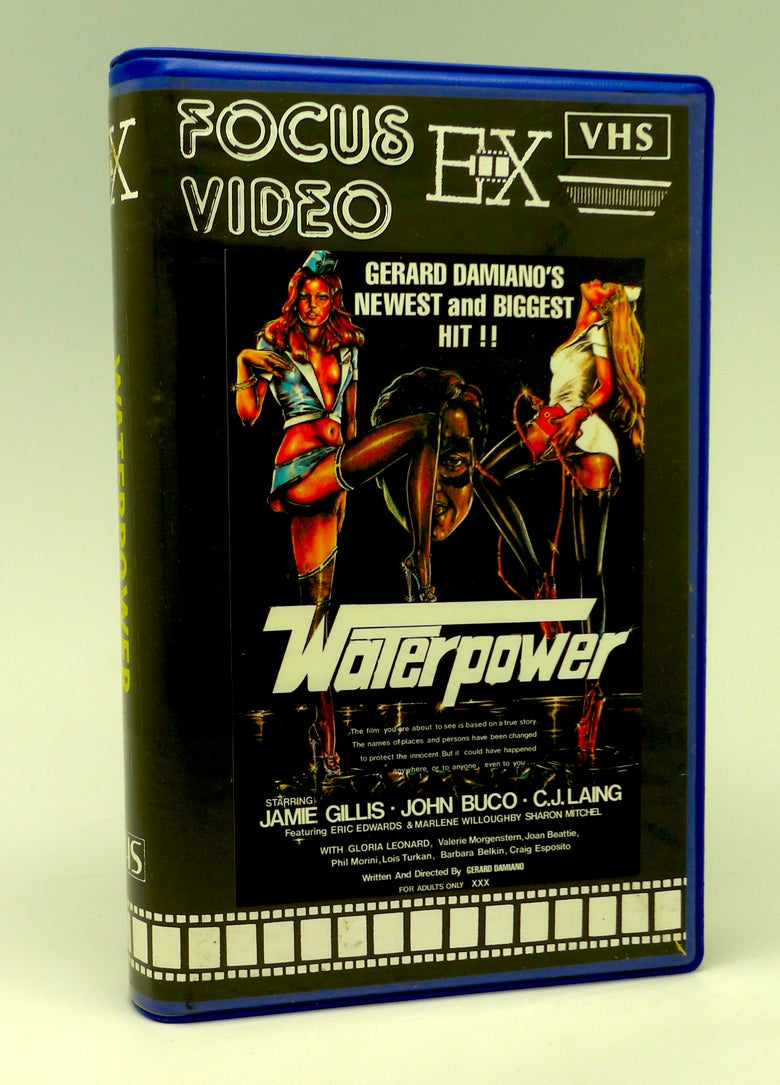 Image of WATERPOWER (1977) VHS