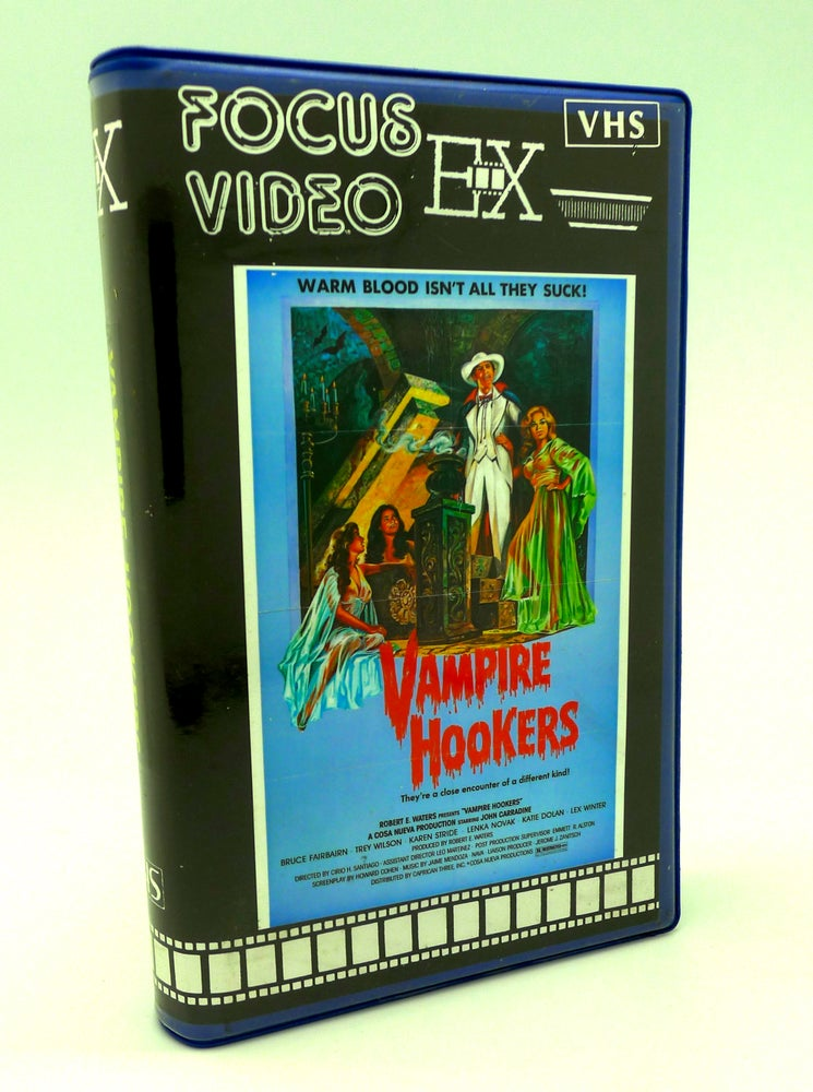 Image of VAMPIRE HOOKERS (1978) VHS