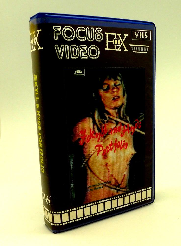Image of JEKYLL AND HYDE PORTFOLIO (1971) VHS