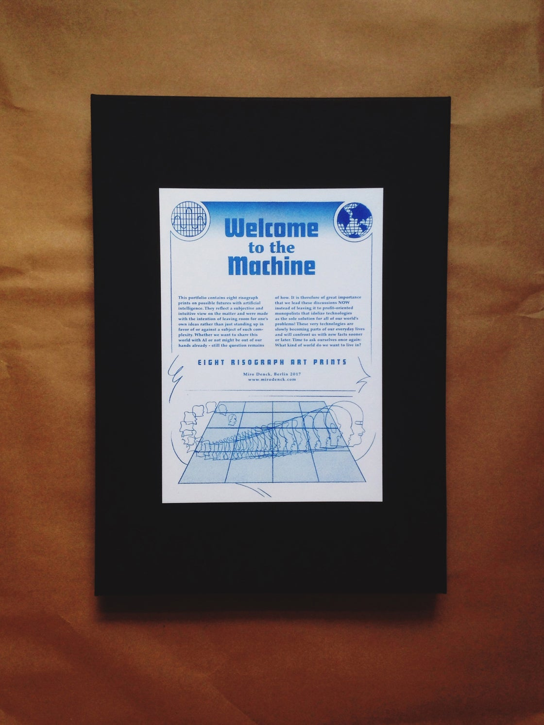 Image of Welcome to the Machine (Set of 8 risograph prints - Edition of 10)