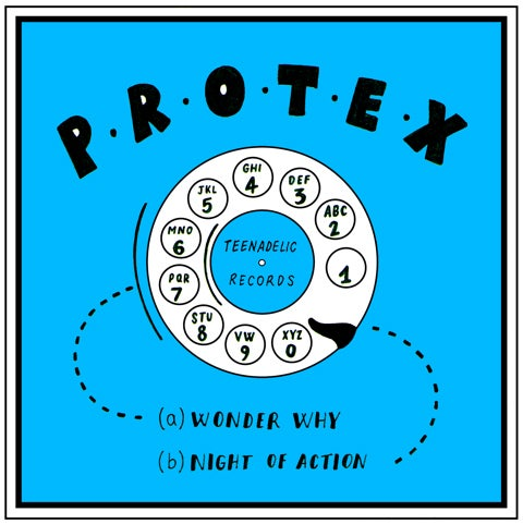 "Image of Protex - I Wonder Why (7"")"