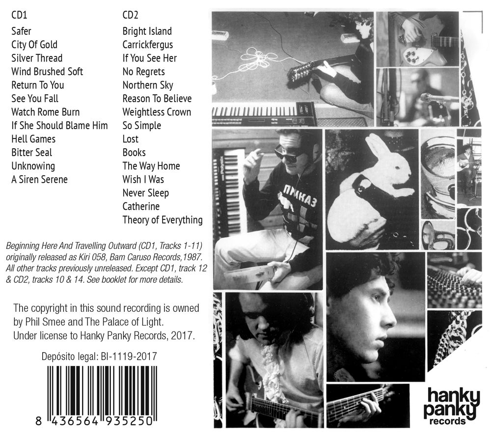 Image of The Palace Of Light - Beginning Here And Travelling Outward (Double CD-Gatefold card sleeve)