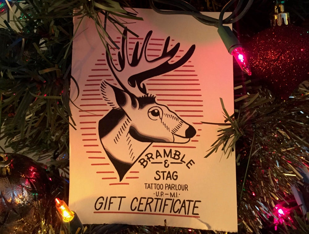 Image of Gift Certificate - $50 and up!