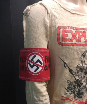 Image of Arm band 3 - Nazi Punks Fuck Off!