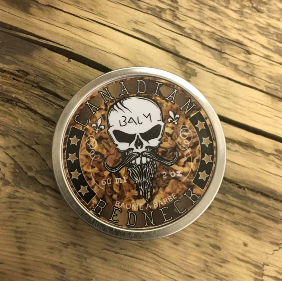 Image of Canadian Redneck Hell Tobacco Beard Balm (Approx $16 Usd)