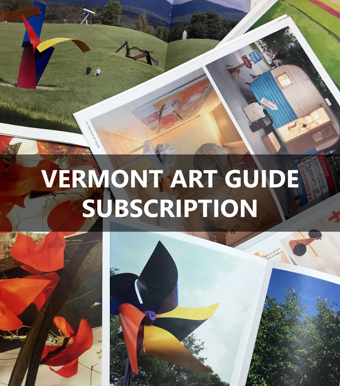 Image of Subscription to Vermont Art Guide