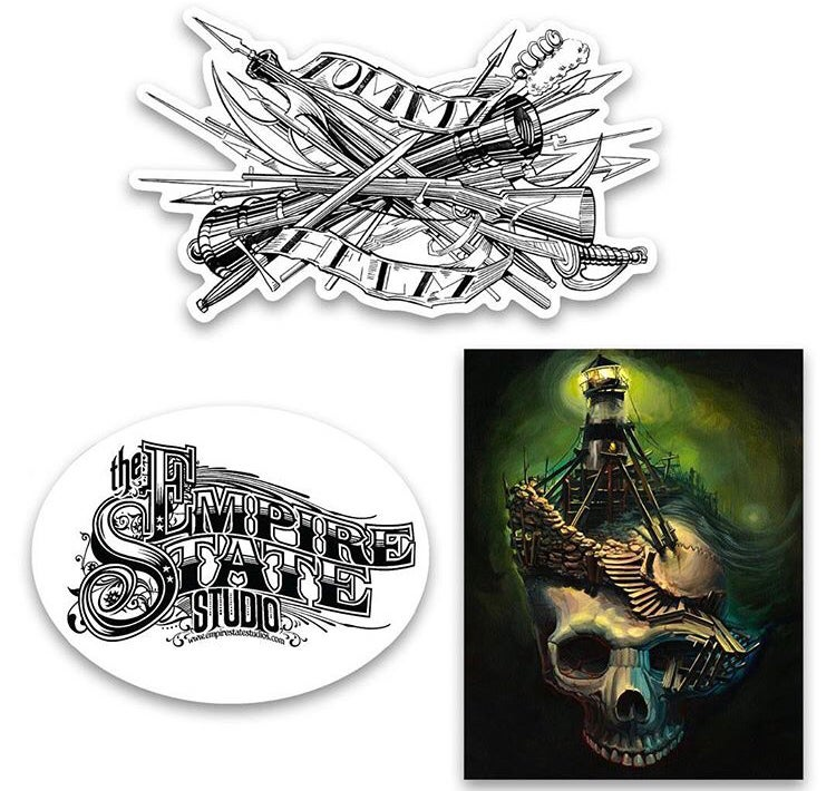 Image of Tommy Helm Sticker Pack