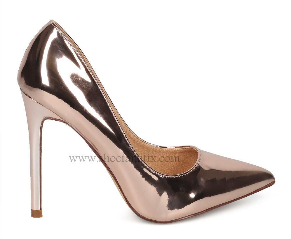 Image of Nina Rose Gold Pump