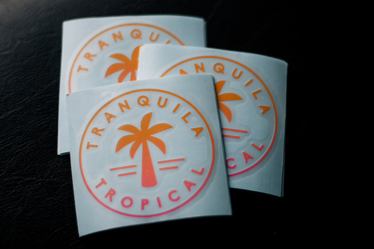 Image of Tranquila//Tropical Decal | MRCC Fade