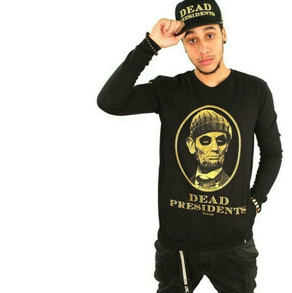 Image of DEAD PRESIDENTS CREW (BLACK/GOLD)
