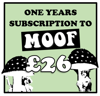 Image of One Year Subscription To MOOF Magazine
