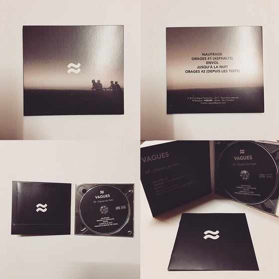 Image of EP - Depuis Les Toits - CD Digipack (livret)
