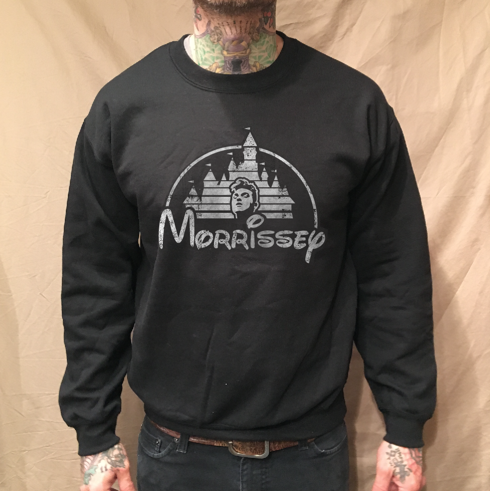 Image of MOZ LAND ON BLACK SWEATER