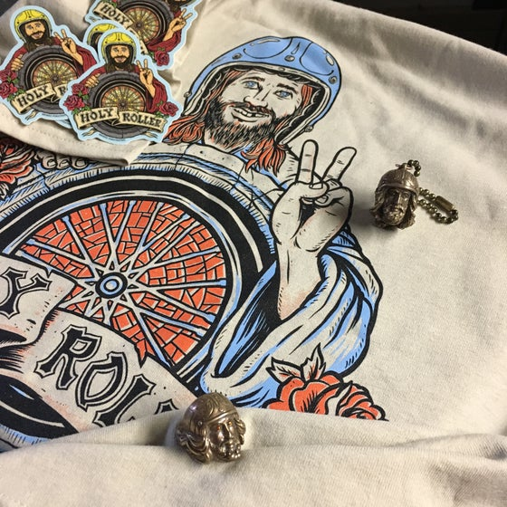 Image of Holy Roller Keychains and Rings