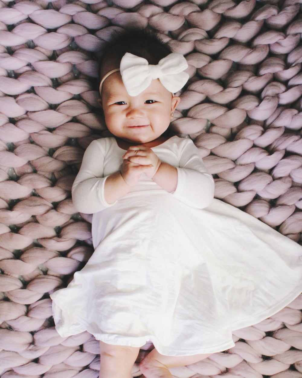 Image of Baby/Girls Special White Twirly