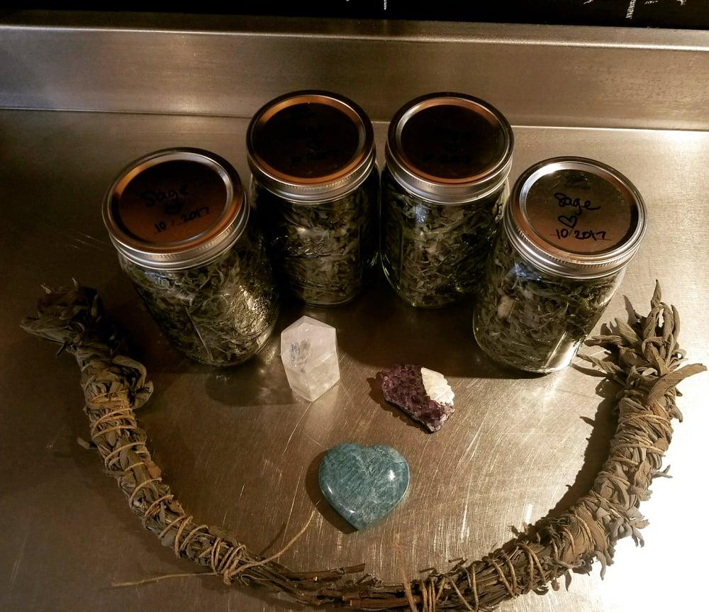 Image of 8 oz. Organic, Heirloom Dried Sage