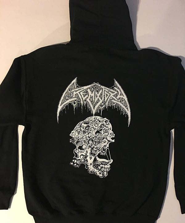 "Image of Crematory "" Requiem Of The Dead "" Hooded Sweatshirt"